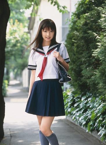 Japanese Japan School Girl Short Sleeved Uniform Cosplay Costume New T041 | eBay
