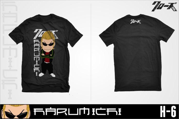 Tshirt Crows Zero - Harumichi Bouya