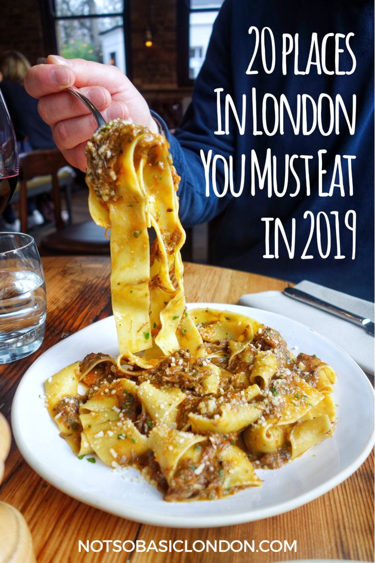 20 posti a Londra che devi mangiare nel 2019 My & # 39; Must Eats of The Year & # 39; blog …