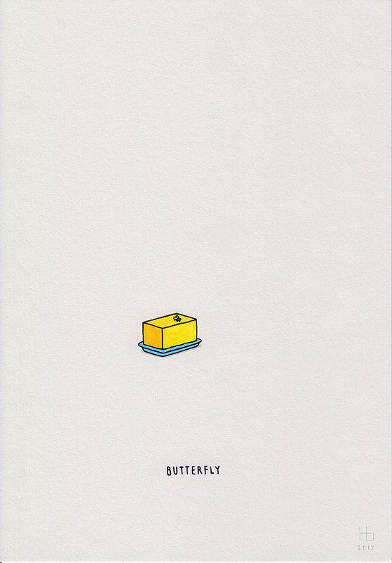 Minimal Illustration Puns by Jaco Haasbroek