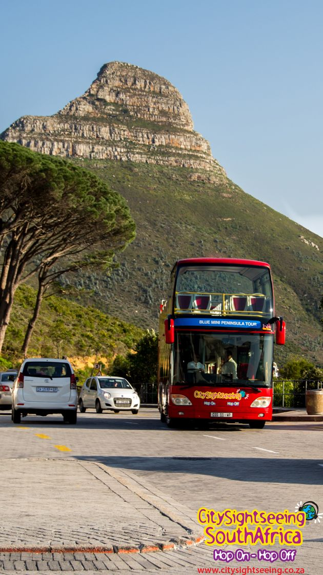 Our Red Bus at the Table Mountain Cableway Stop 7  http://www.citysightseeing.co.za/table-mountain-cape-town