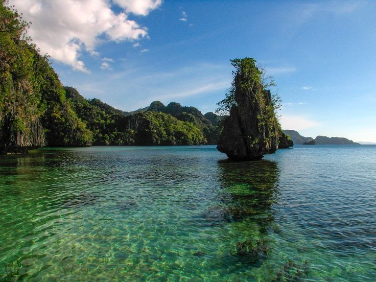Most of the Calamianes, a group of islands north of Palawan, host karst limestone formations, a landscape feature that (in the Philippines) is distinct to the region.