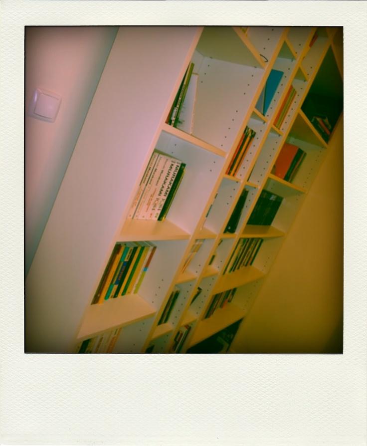 Estante livros