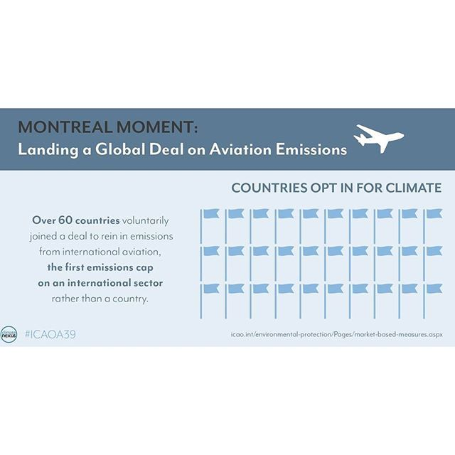 Infographic for UN's International Civil Aviation Organization on their global flight #emissions deal. #ICAOA39 . . . #DesignByMina #MinaLeegraphics #October2016 #graphicdesign #factcard #infographic #visualcommunication