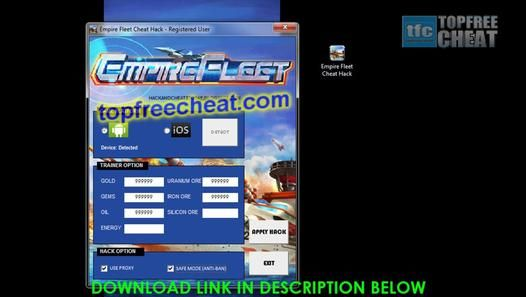 Empire Fleet Hack/Cheat Tool April 2014 - Unlimited Gold, and Gems - Video Dailymotion