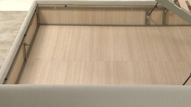 Il box bed ha un'altezza di 21 cm