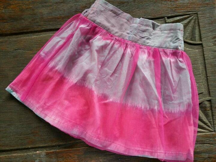 tie dye collection for your little girl - lovely pink
