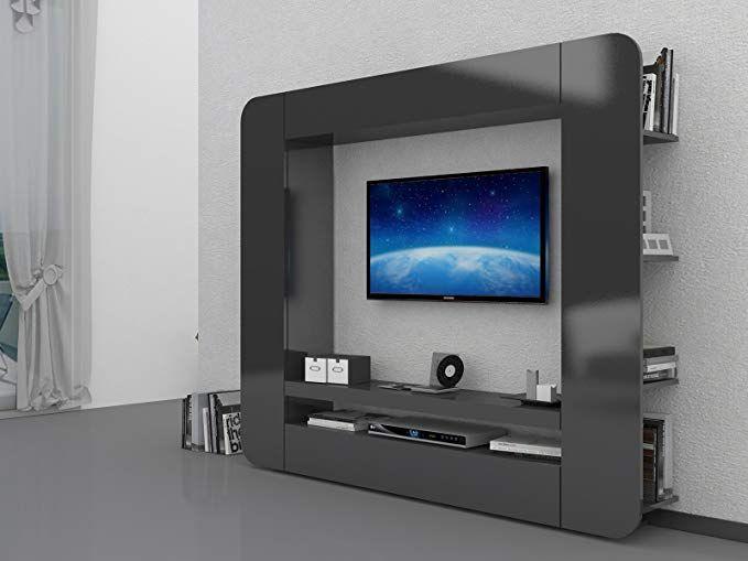Wohnwand Wohnzimmerschrank Mediawand Schrankwand Wohnzimmer Mobel