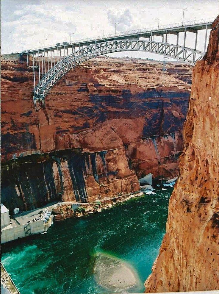 Glen Canyon Dam Bridge in Page, AZ