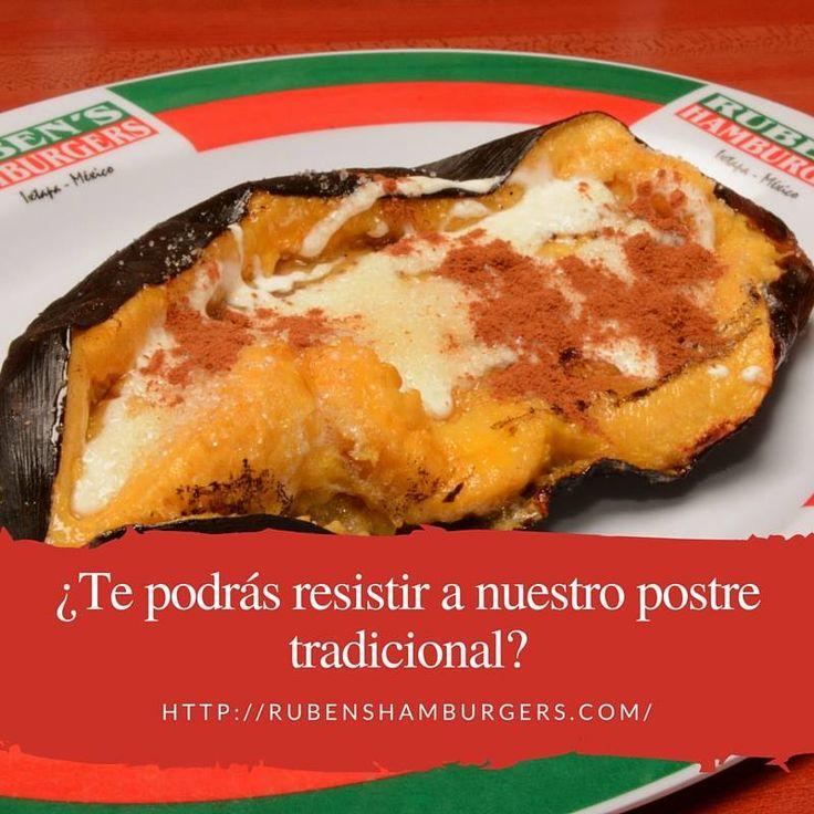 Uno de nuestros platos más icónicos. ¿Aún no lo has probado? #RubensHamburgers #Menú