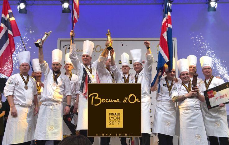Les Etats-Unis remportent l'édition des 30 ans du Bocuse d'or. Bravo à l'équipe française de Laurent Lemal qui termine à la cinquième place.