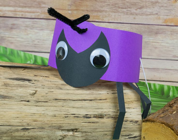 Ant Headband Or Party Hat Craft Idea Littlecraftybugs