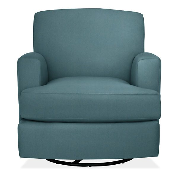 Room & Board - Carter Custom Swivel Glider Chair