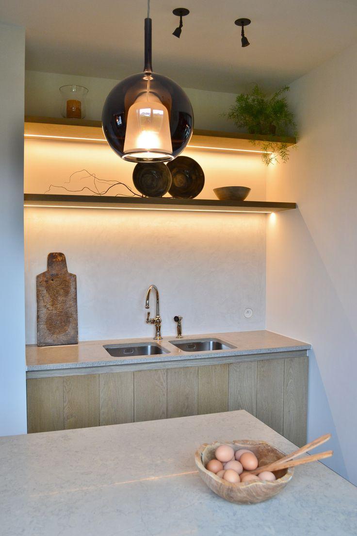 Keuken 15 · Limestone CountertopsSpanish RevivalStudio ApartmentKitchen  CabinetsGaragePhrases Part 69