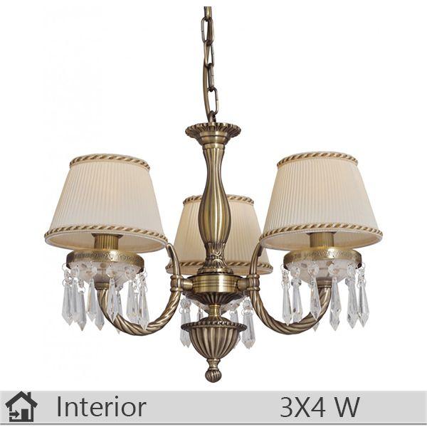 Lustra iluminat decorativ interior Klausen, gama Burma, model nr3