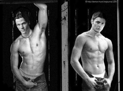 Mmmmmm... Jared Padelecki & Jensen Ackles :)