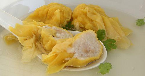 Wontons (dumplings voor in de soep)
