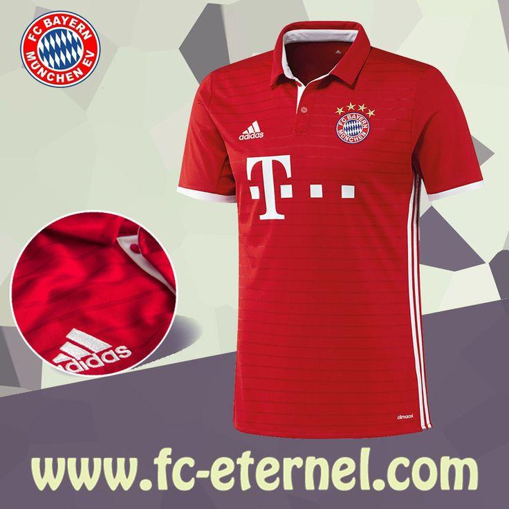 fc-eternel:Maillot Bayern Munich 2016-2017 Domicile Personnalise