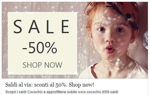 Saldi al via: sconti al 50%.Shop now! www.cocochic.it/59-saldi www.cocochic.it  #abbigliamento #bambini #bambine