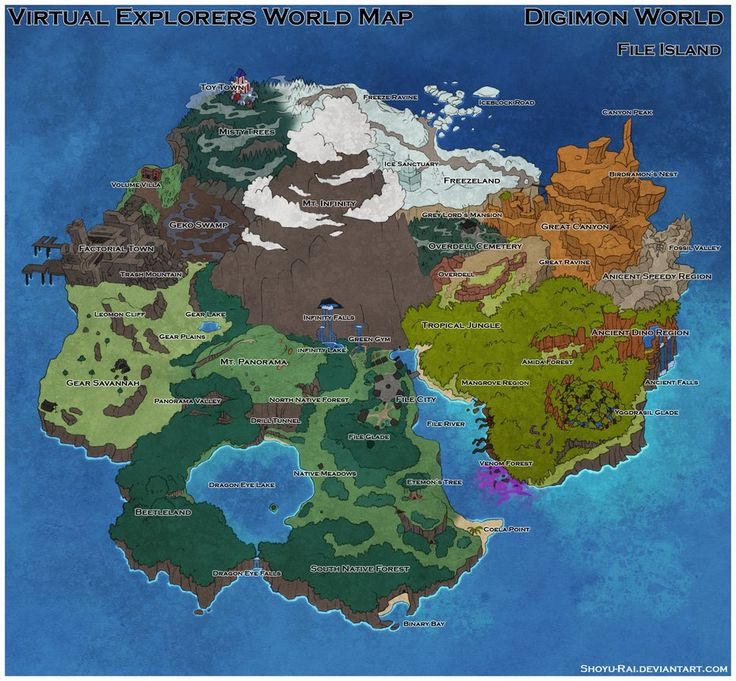 virtual explorers file island world map by shoyu rai