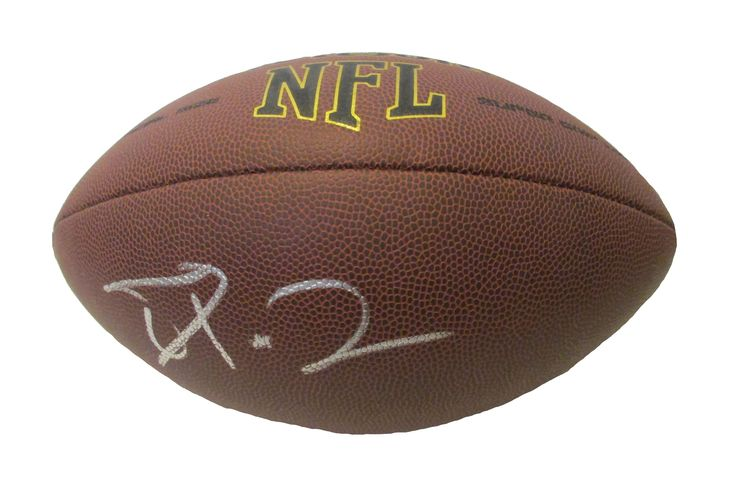 Terrelle Pryor Autographed NFL Wilson Composite Football, Proof Photo