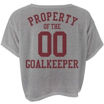 """Property of the goalkeeper 