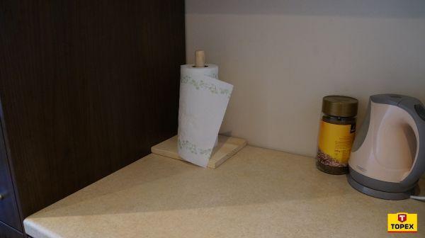 Stojak na ręczniki papierowe [wersja druga] – krok po kroku