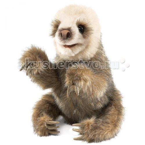 Folkmanis Мягкая игрушка на руку Детеныш ленивца 28 см