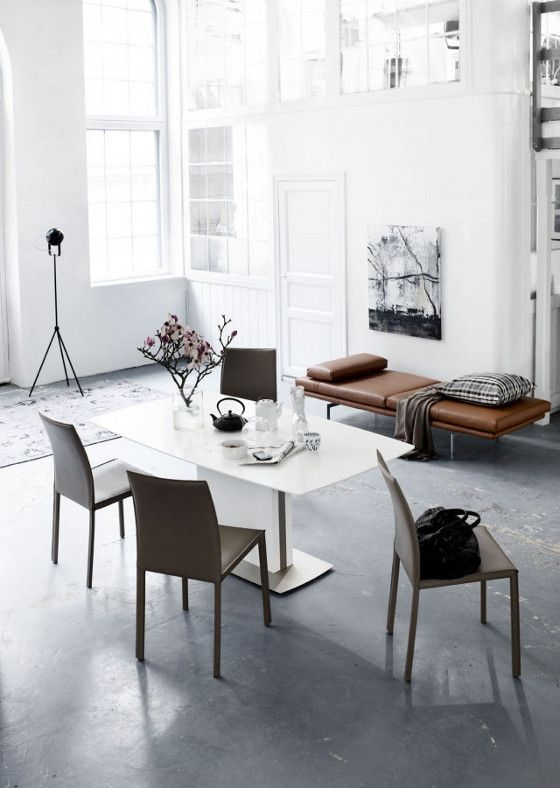 BoConcept Milano expanding dining table  Zarra chairs  and Morini daybed74 best Inspiring BoConcept Spaces images on Pinterest  . Milano Dining Table Boconcept. Home Design Ideas