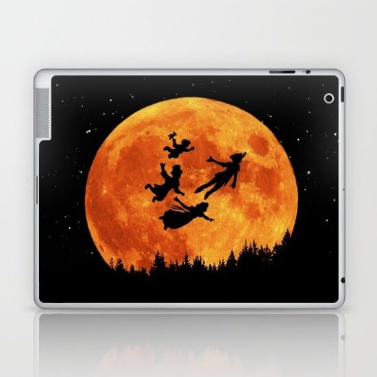 Take Me To Neverland Laptop & iPad Skin