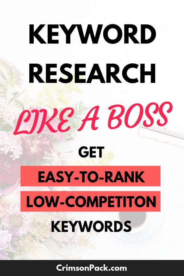 How To Do Keyword Research The Free Method Seo Tutorial Seo Seo For Beginners