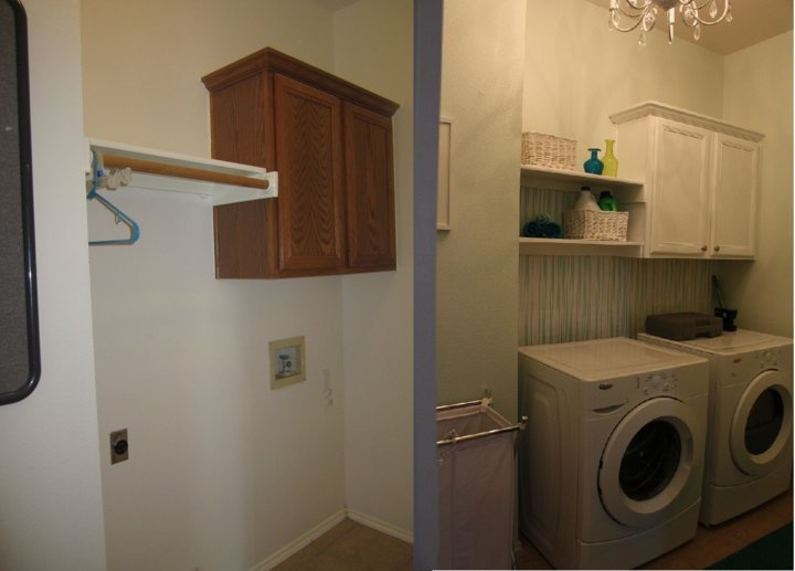 Laundry Room Before After Inspired By Centsational Girl