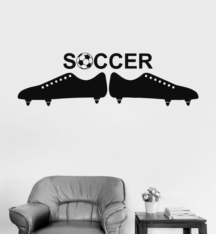 Wall Vinyl Sticker Soccer Ball European Football Team Sports Man Decor Unique Gift (ig3061) #europeansoccer