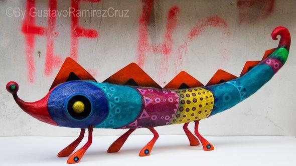 Gustavo Ramirez Cruz - Paper Maché Artist