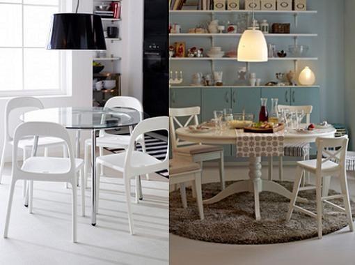 Mesas Cocinas Ikea. Interesting Salon Comedor Ikea Como Decorar La ...