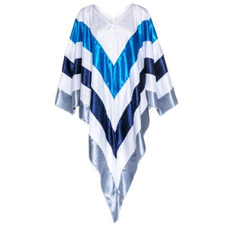 ON SALE!!! - £9.99 - Fancy Dress Super Trooper Eurovision 70s Poncho  Buy here: https://sowestfancydress.com/products/uncategorized/fancy-dress-super-trooper-eurovision-70s-poncho/
