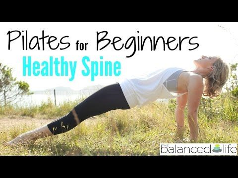 Pilates For Beginners: part three (flexion & extension) - YouTube