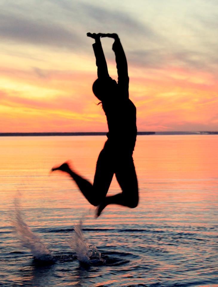"Lake Diefenbaker, Saskatchewan...""Jump In"""