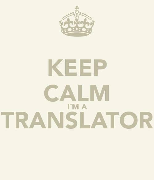 Keep Calm I Am A Translator Bufetedetraductores