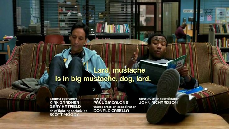Community - one of the most hilarious shows on TV. Troy and Abed in the morning!