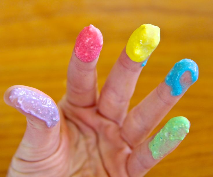 Two Ingredient, Edible Finger Paints