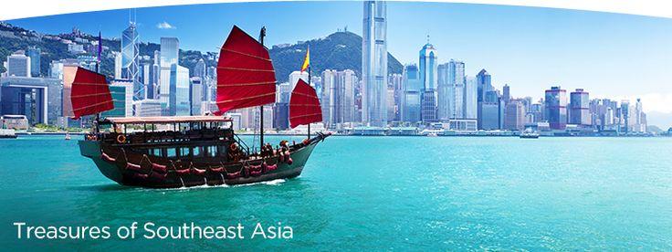 Treasures of Southeast Asia Cruise. Includes: Singapore, Ho Chi Minh City (Saigon), Nha Trang, Qui Nhon, Da Nang (Hoi An/Hue), Hanoi (Haiphong), Halong Bay, Hong Kong http://www.windstarcruises.com/asia-overview.aspx
