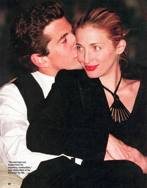 You'll adore me and I'll cherish you. john f. kennedy jr. & carolyn bessette via {this is glamorous}, via Flickr