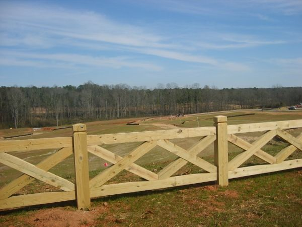 images of residential wooden fencing | Home Residential Fences Commercial Fences…