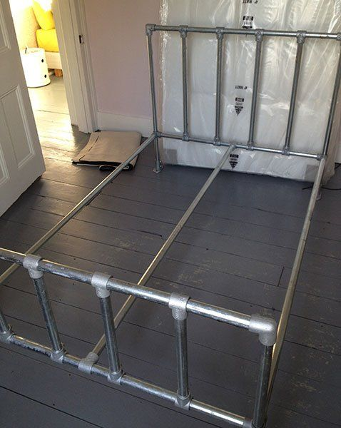 technobubble.info » DIY Pipe Bed