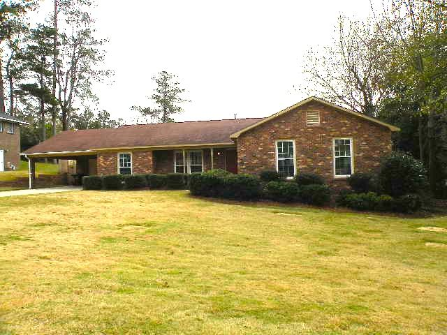 SOLD! 1909 Landau Drive  Phenix City, AL  4 BR/ 2 baths, 2236 sq feet   This home is right off Summerville Rd near highway for bi-city travelers! The home features two living areas, a separate dining room & separate laundry room. The home has all new carpet and new paint. Recessed lighting and fireplace in great room. The kitchen has breakfast area, stainless steel appliances and solid surface counter tops along with new hardware on the cabinets. Your family will love the swimming pool.