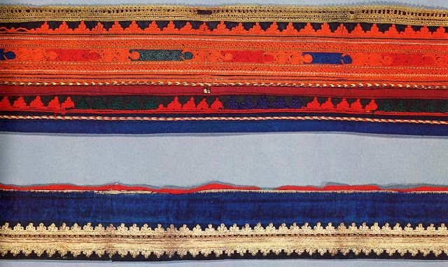 FolkCostume&Embroidery: Costume of the Karagouni, Thessaly, Greece