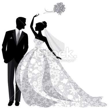 15 best wedding designs images on pinterest design do casamento bride and groom silhouette google search junglespirit Image collections
