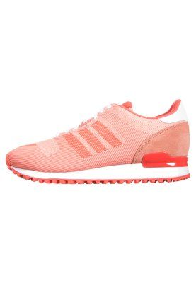 ZX 700 Weave - Joggesko -  bright coral/dust pink/white