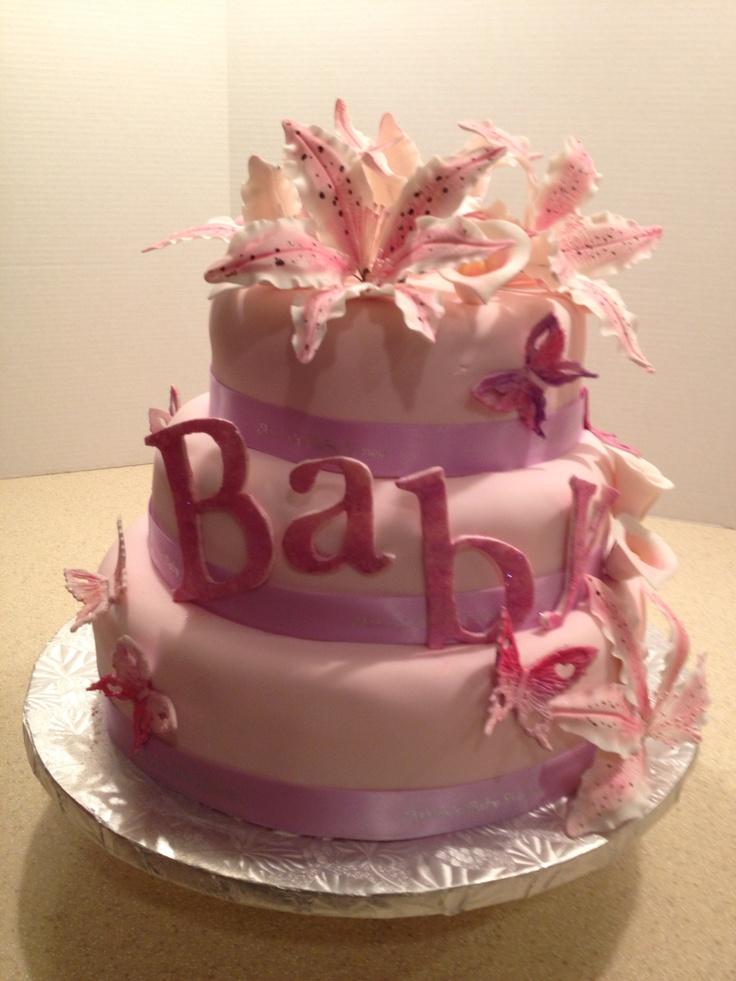Baby Shower Cakes Adelaide ~ Baby shower cake edible art by sweet gerri s pinterest